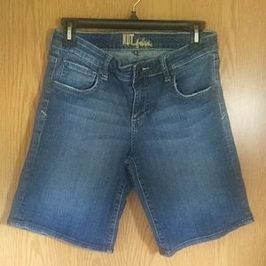 Kut from the Kloth Denim Jean Shorts